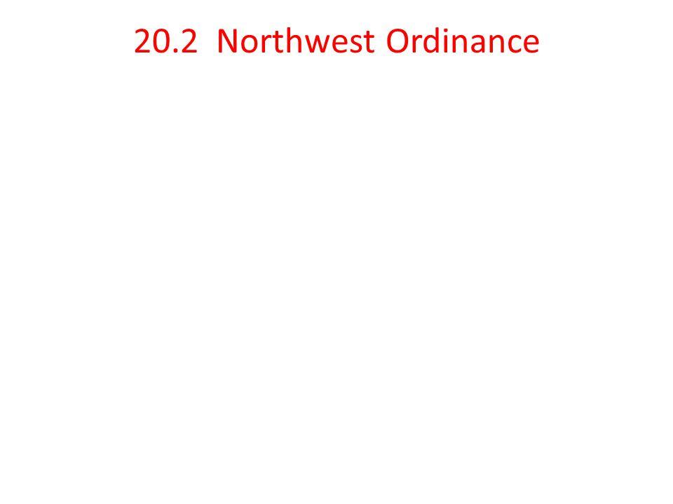 20.2 Northwest Ordinance