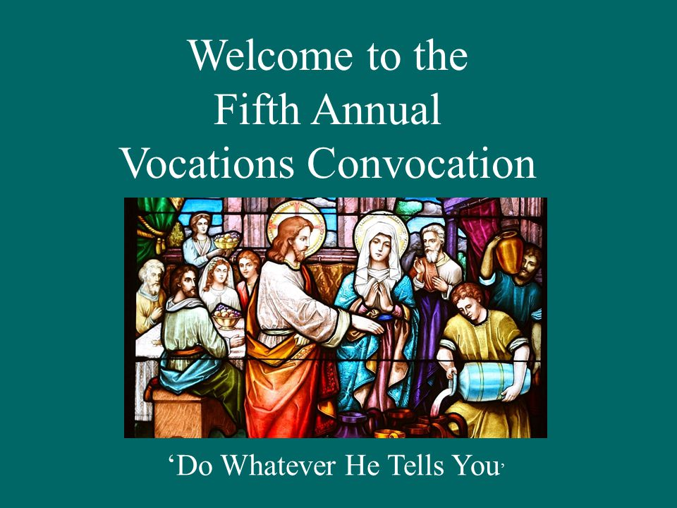 Office of Priestly Vocations Annual Report 2011-12