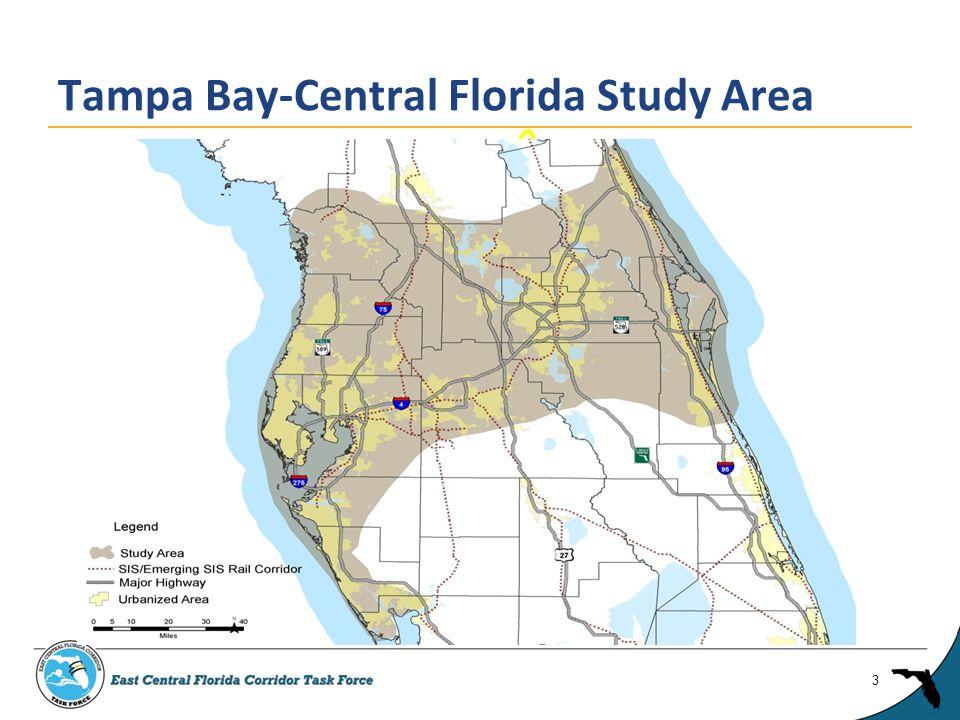 East Central Florida Corridor Task Force 4 Pilot Study Area