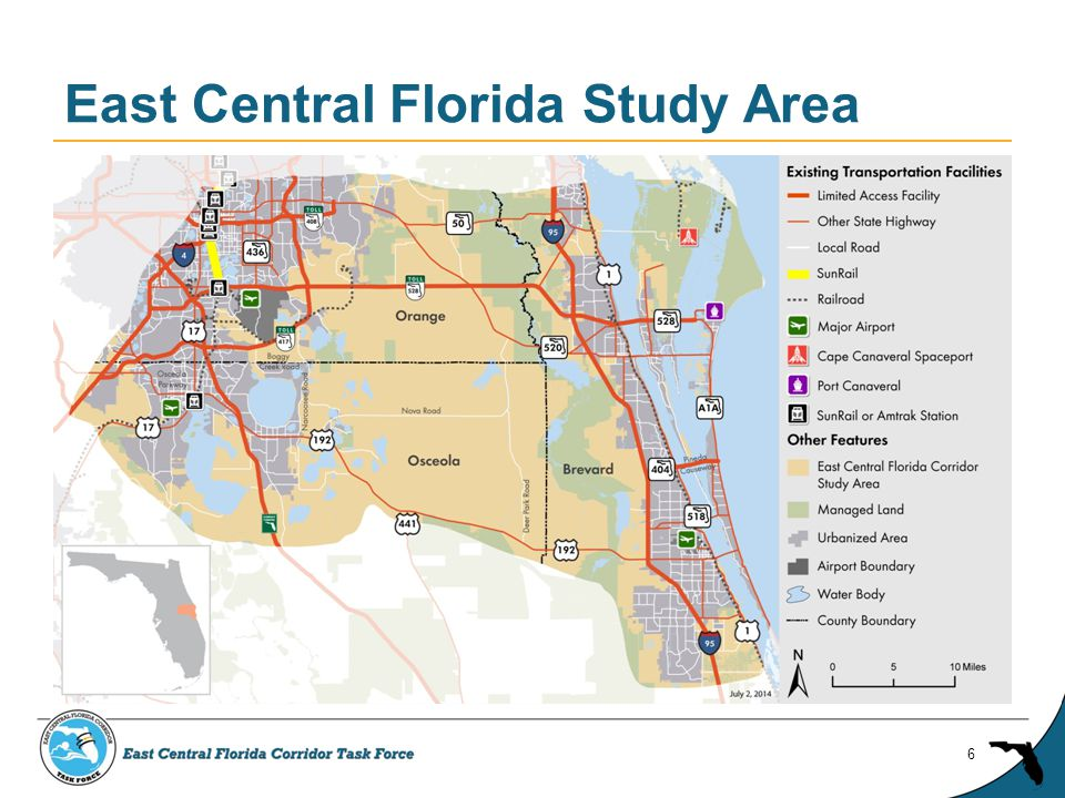 East Central Florida Study Area 6