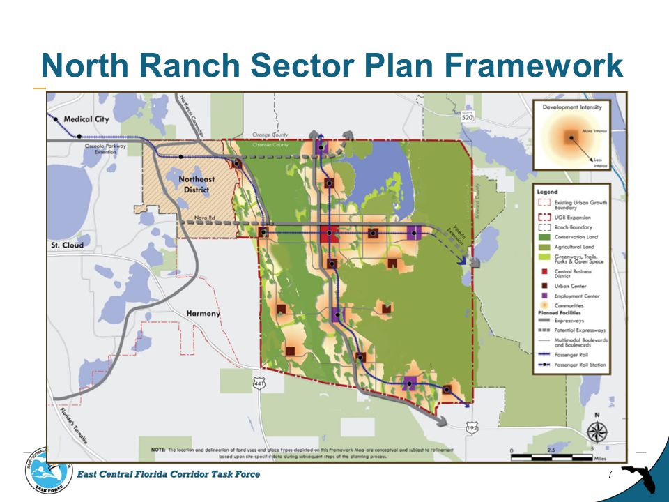North Ranch Sector Plan Framework 7
