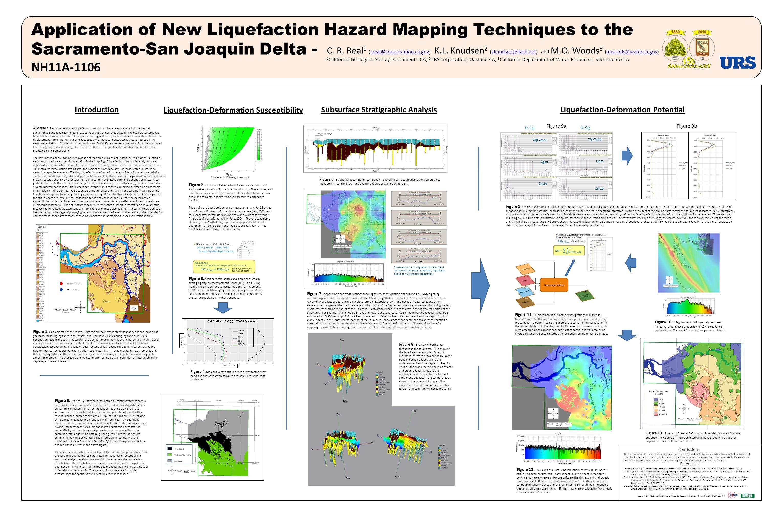 "Atwater, B. (1982). ""Geologic Maps of the Sacramento-San Joaquin Delta, California,"" USGS MAP MF-1401, scale 1:2,400. Faris, A. (2004). ""Probabilistic"