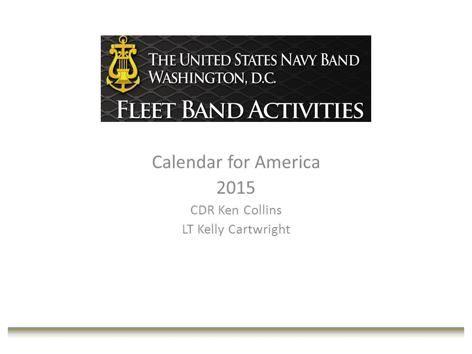 Prior to Mission Funding Ex: FY14 Pacific Fleet Band Navy Band Northeast U.