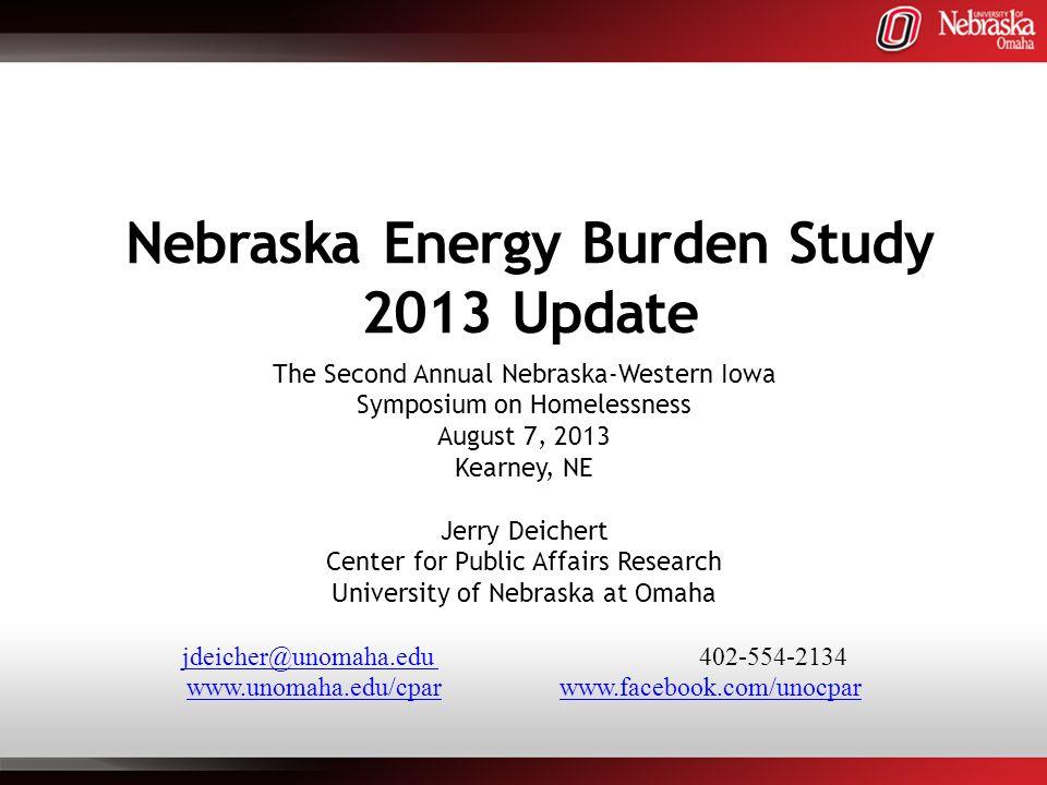Why Look at Energy Burden.