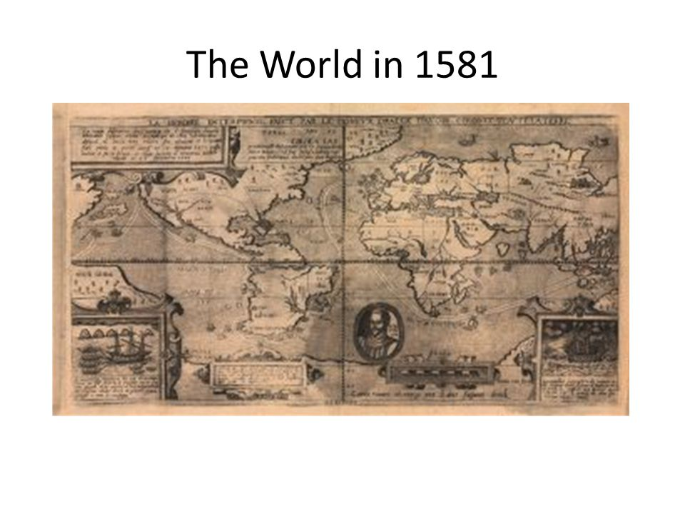Comparing Primary Sources What are some differences between the map from 1507 and 1581.