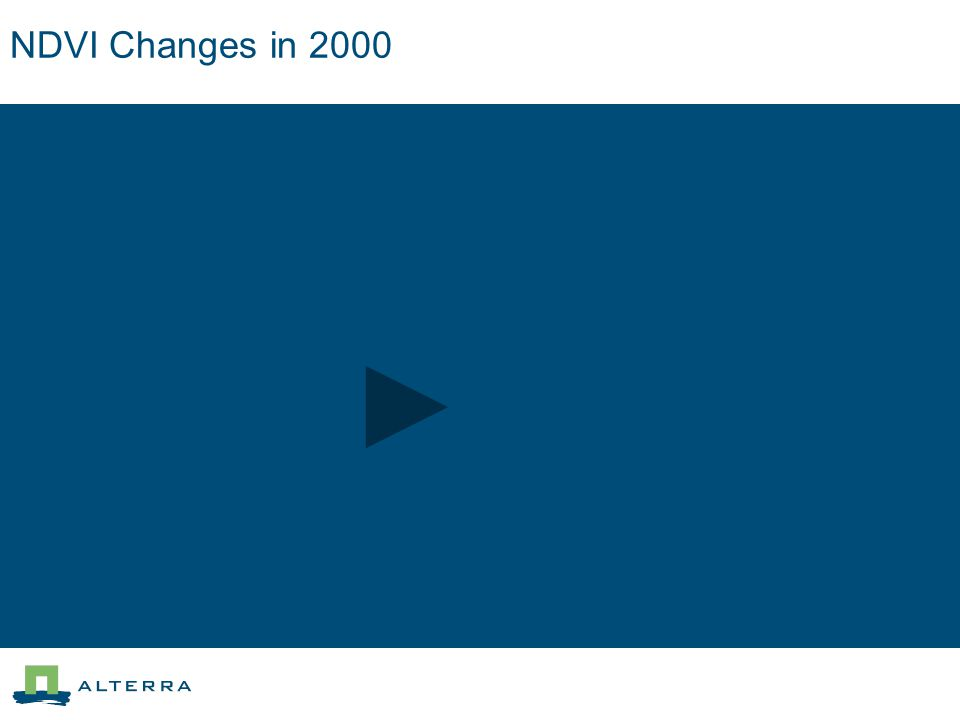 NDVI Changes in 2000