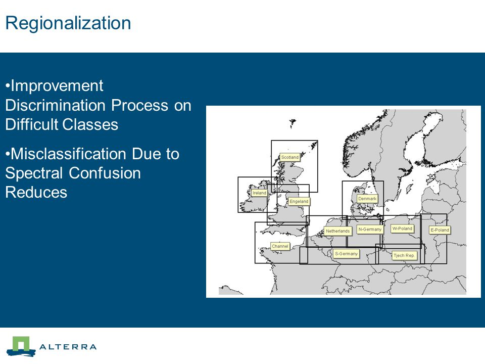 Regionalization Improvement Discrimination Process on Difficult Classes Misclassification Due to Spectral Confusion Reduces