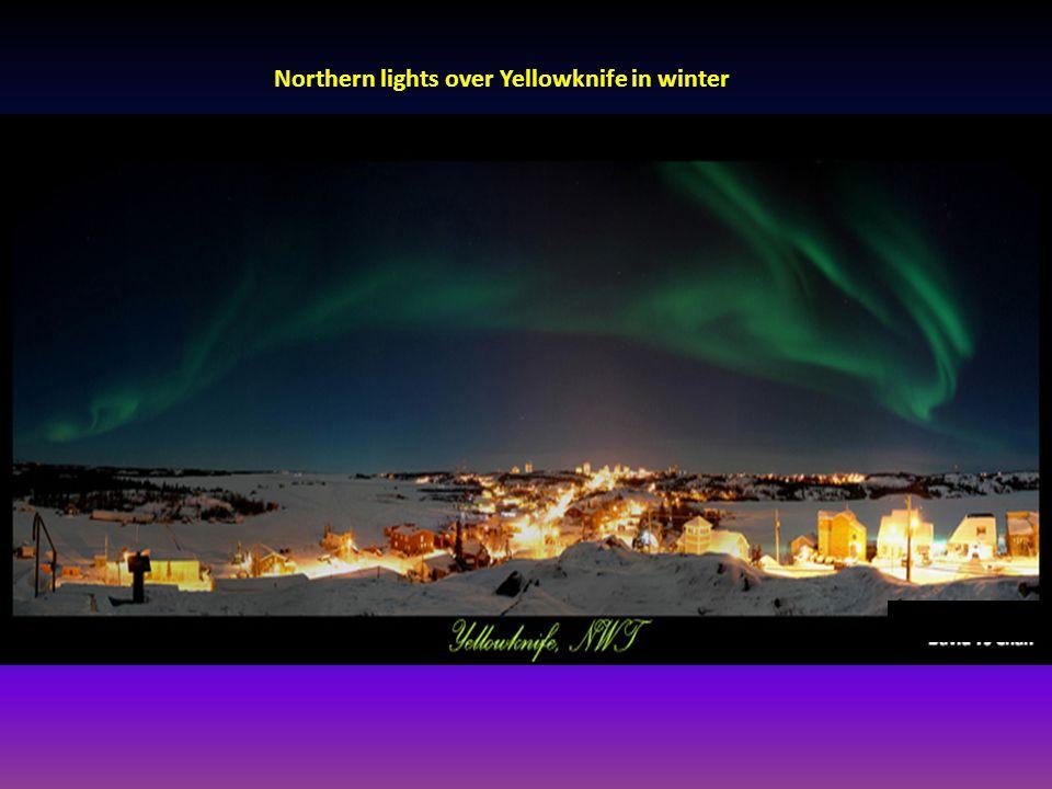 Yellowknife winter
