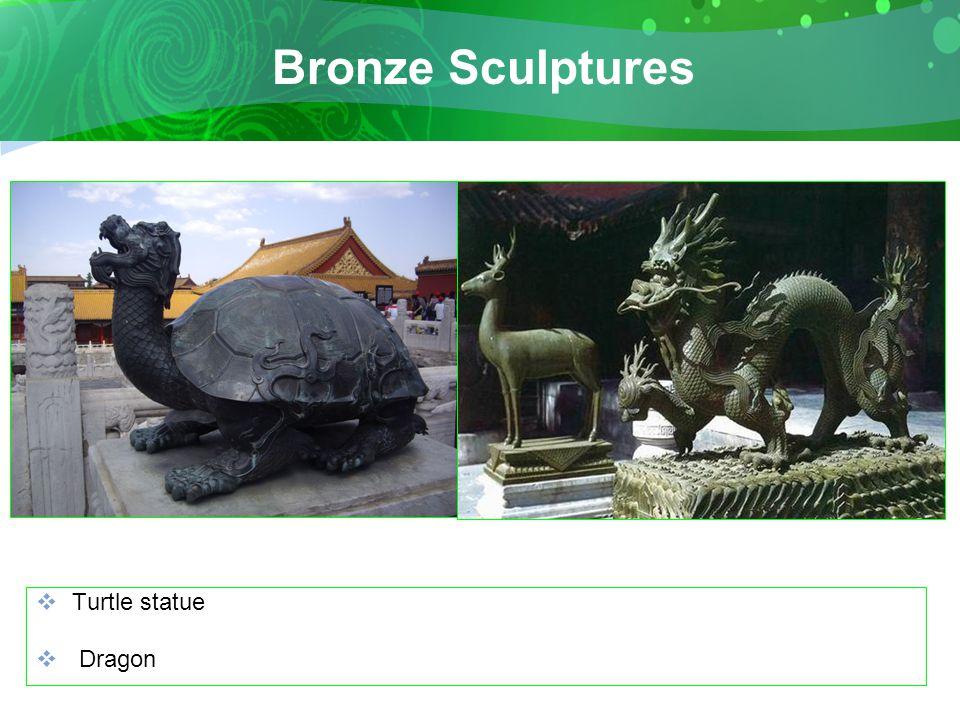 Bronze Sculptures  Turtle statue  Dragon