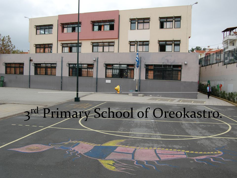 3 rd Primary School of Oreokastro.