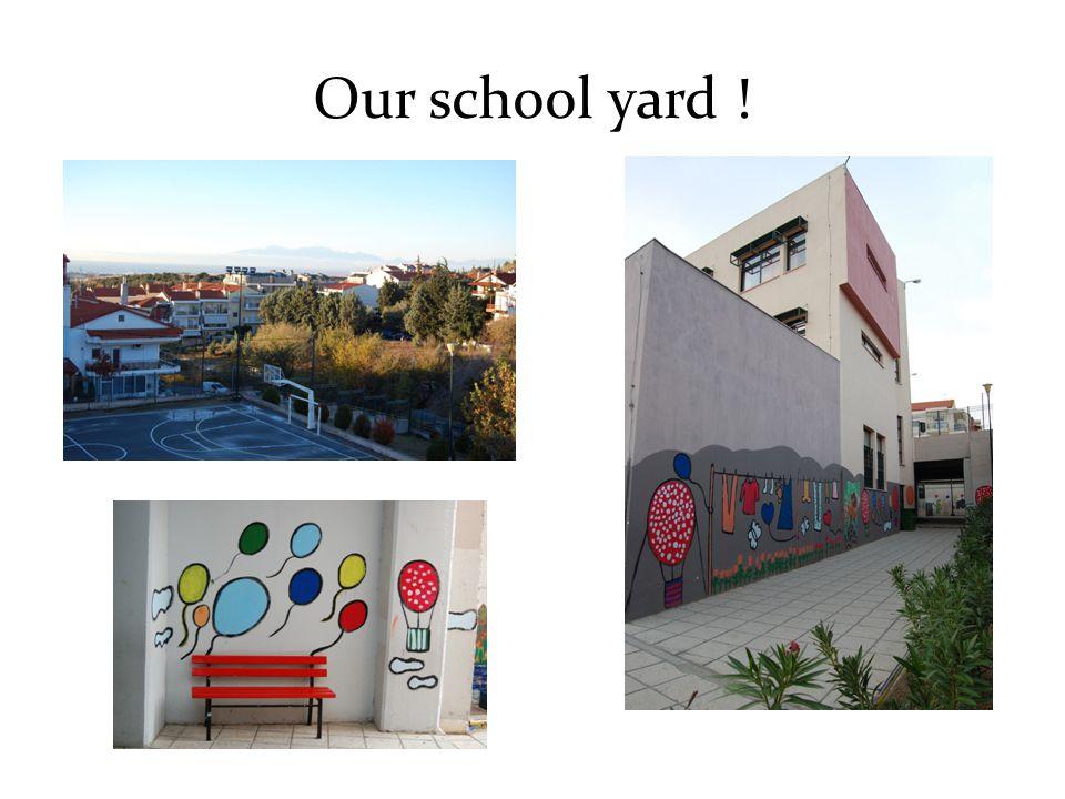 Our school yard !