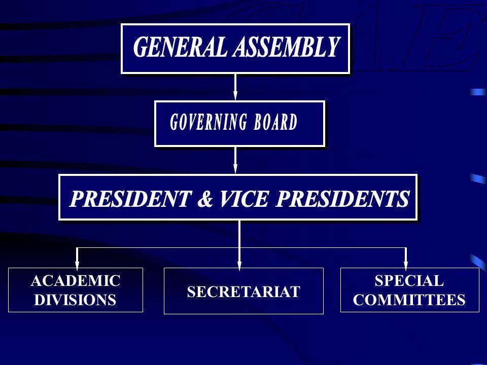 ACADEMIC DIVISIONS SECRETARIAT SPECIAL COMMITTEES