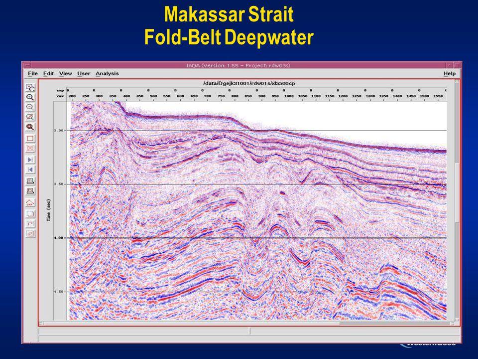 Makassar Strait Fold-Belt Deepwater
