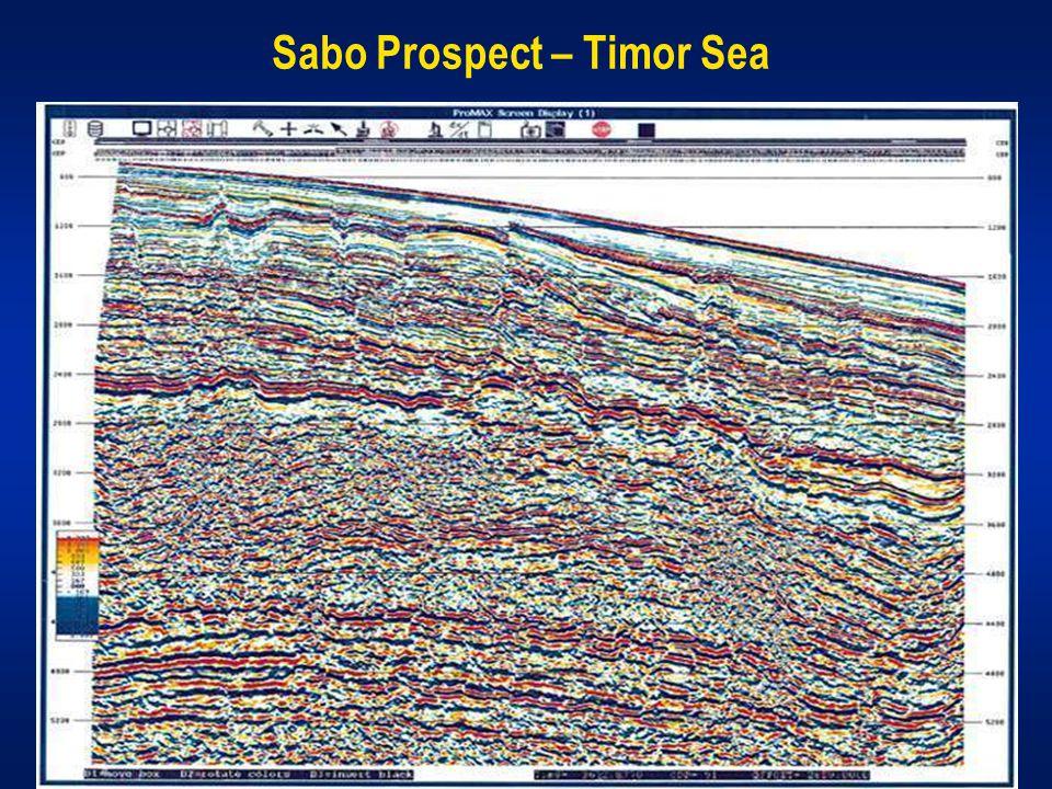Sabo Prospect – Timor Sea