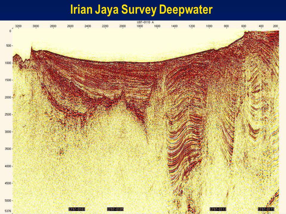 Irian Jaya Survey Deepwater