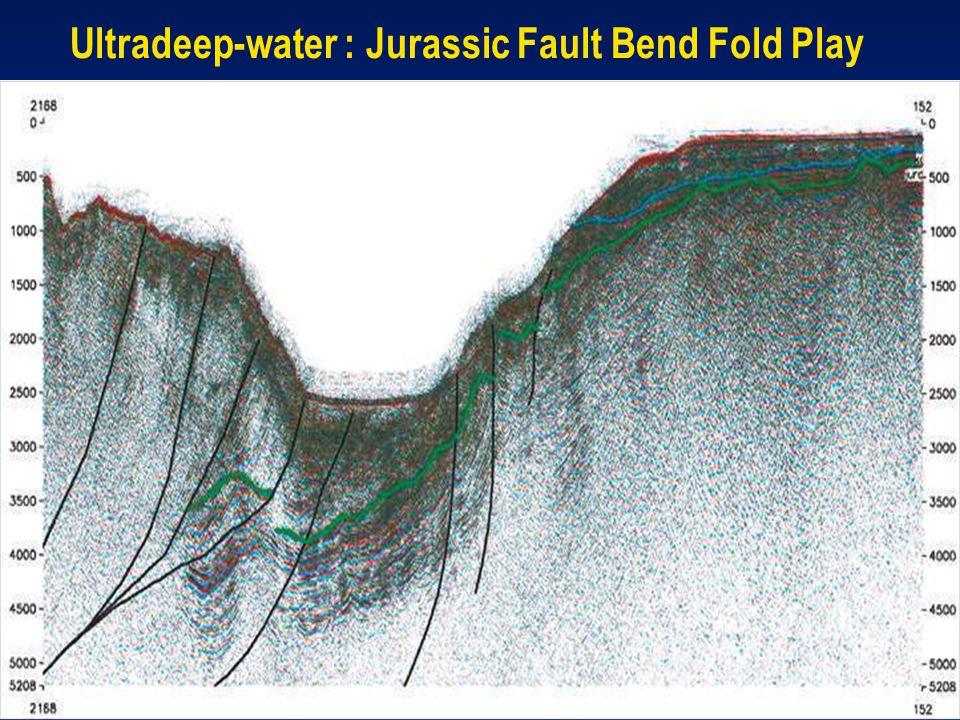 Ultradeep-water : Jurassic Fault Bend Fold Play