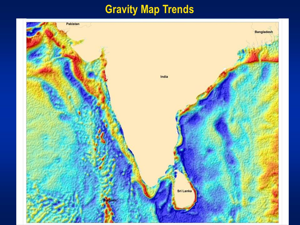 Gravity Map Trends