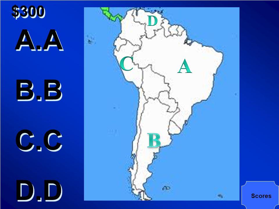 $300 Where is Peru?