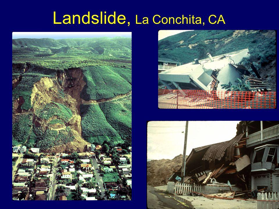 Landslide, La Conchita, CA