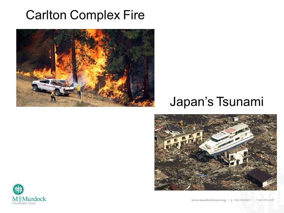 Japan's Tsunami Carlton Complex Fire