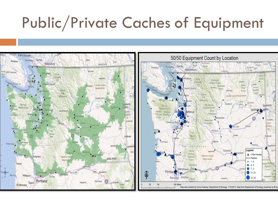 Public/Private Caches of Equipment