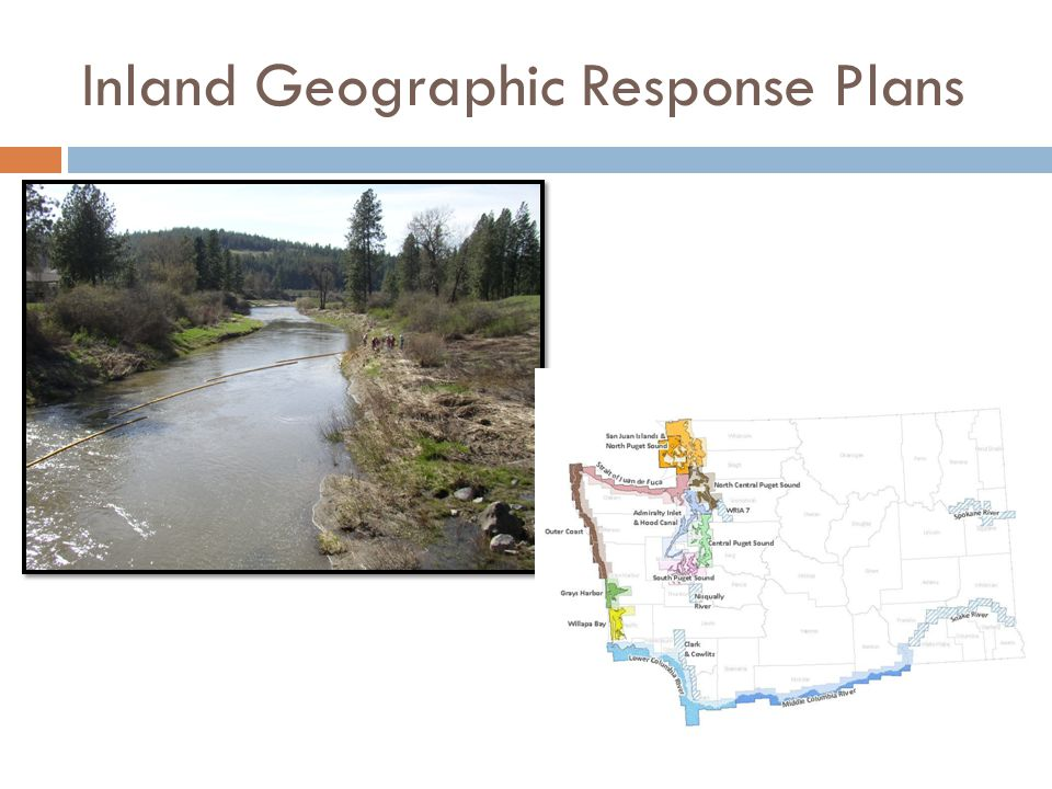 Inland Geographic Response Plans