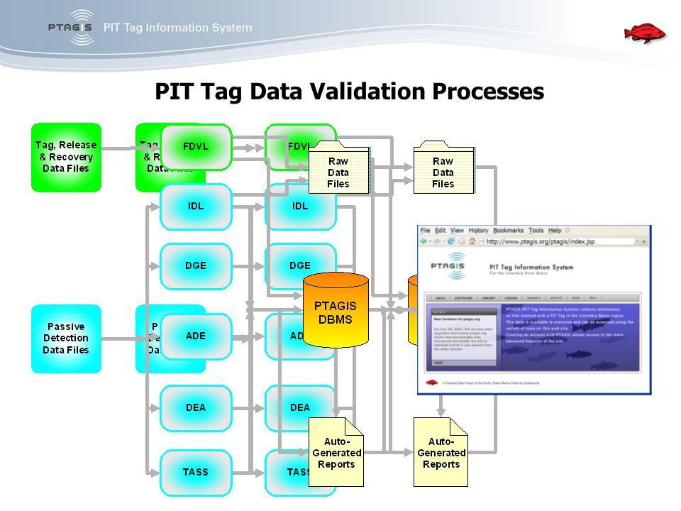PIT Tag Data Validation Processes