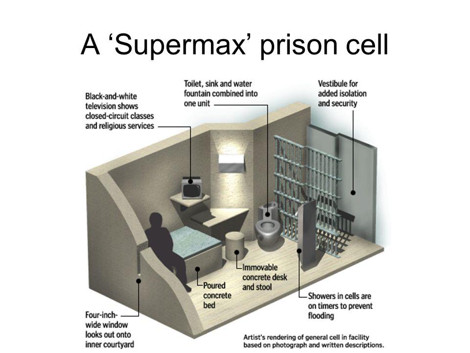A 'Supermax' prison cell