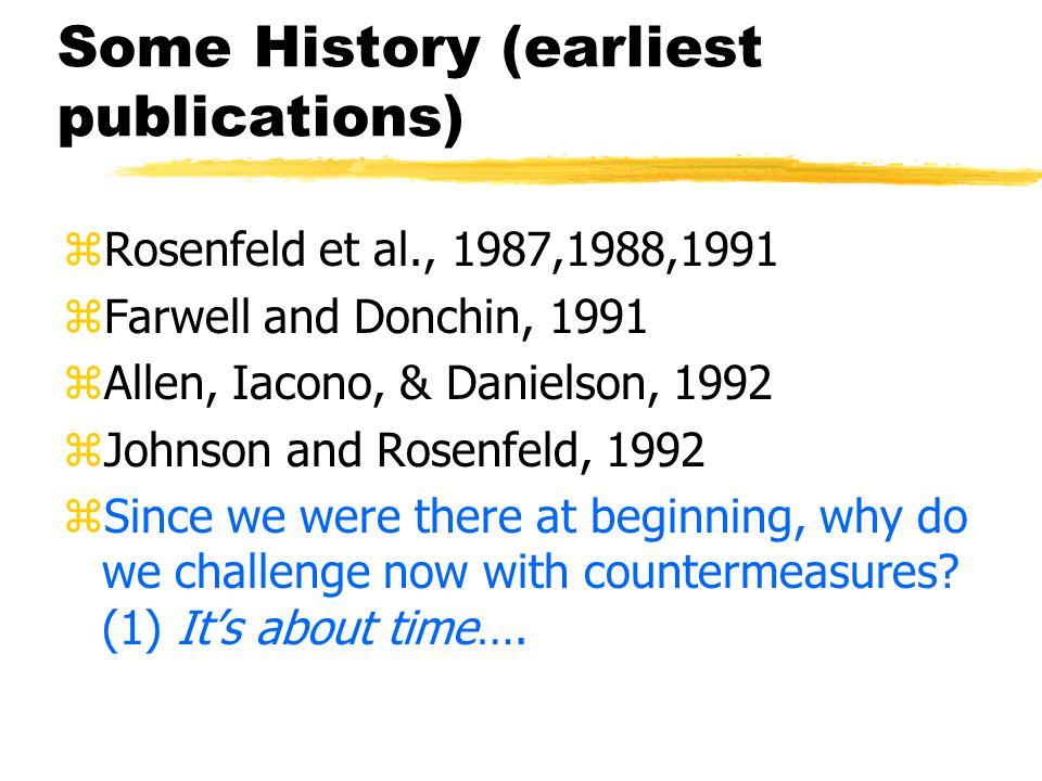 Countermeasures to P300- based Guilty Knowledge Tests of Deception J.Peter Rosenfeld, Matt Soskins,Joanna Blackburn, & Ann Mary Robertson Northwestern University.