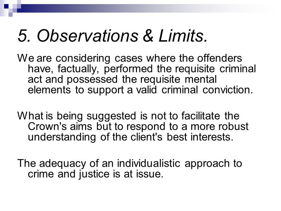 5.Observations & Limits.
