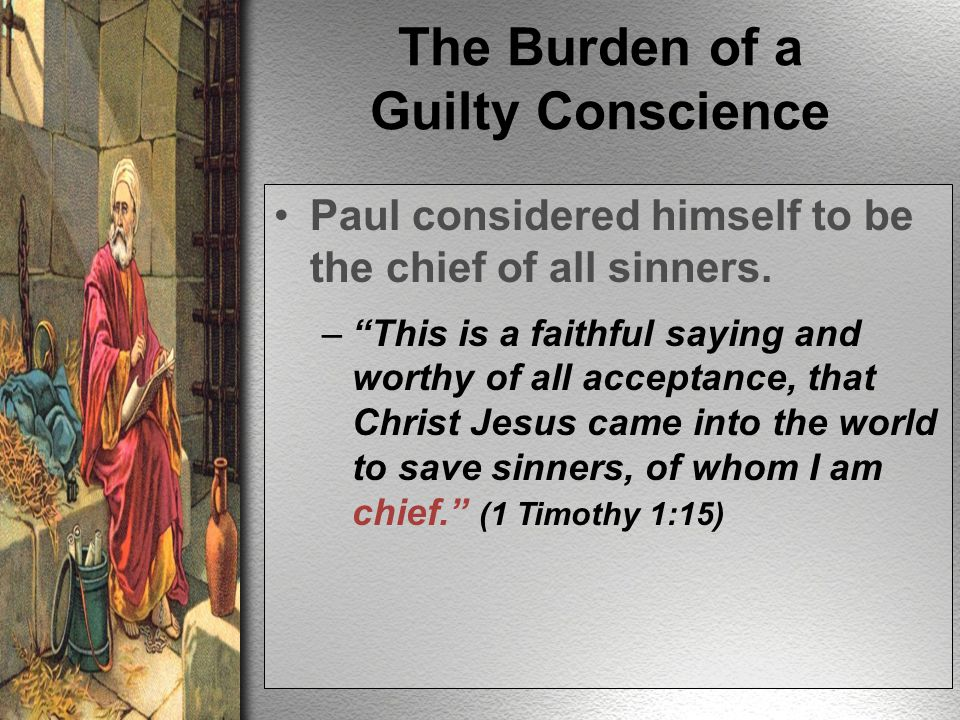 Truth Brings Conscience to a Crossroad One can go from being honestly mistaken to having a SEARED conscience.