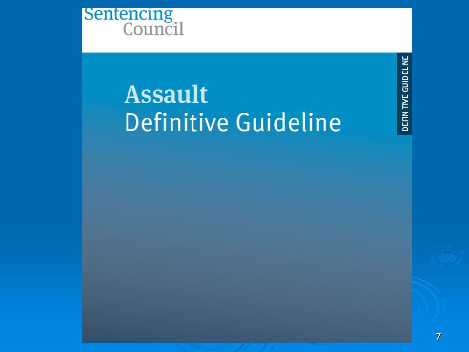 English Guilty Plea Guideline Recommendations and judicial practice regarding these