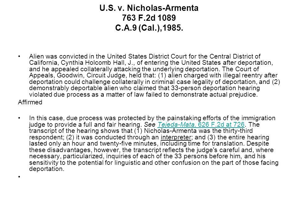 U.S.v. Nicholas-Armenta 763 F.2d 1089 C.A.9 (Cal.),1985.