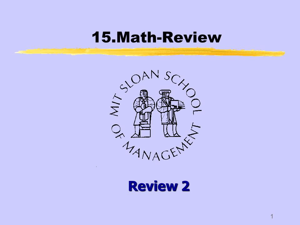 1 15.Math-Review Review 2