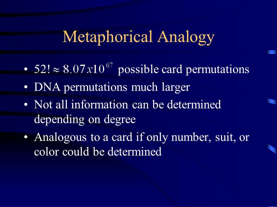 Metaphorical Analogy 52.