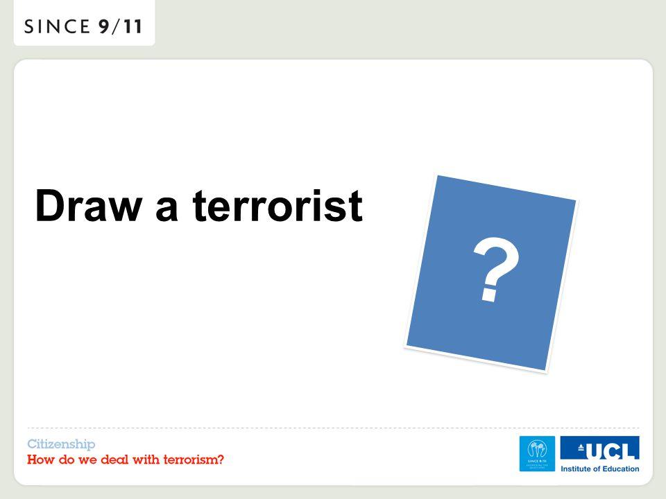 Draw a terrorist ?
