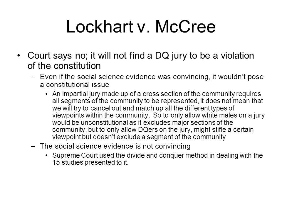 Lockhart v.
