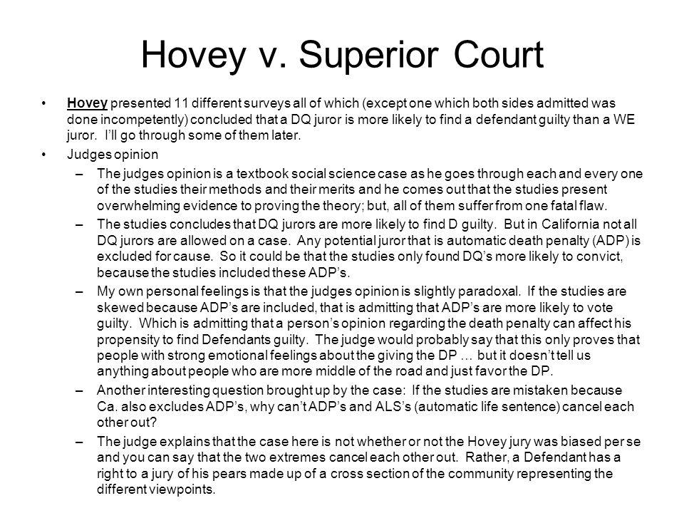 Hovey v.