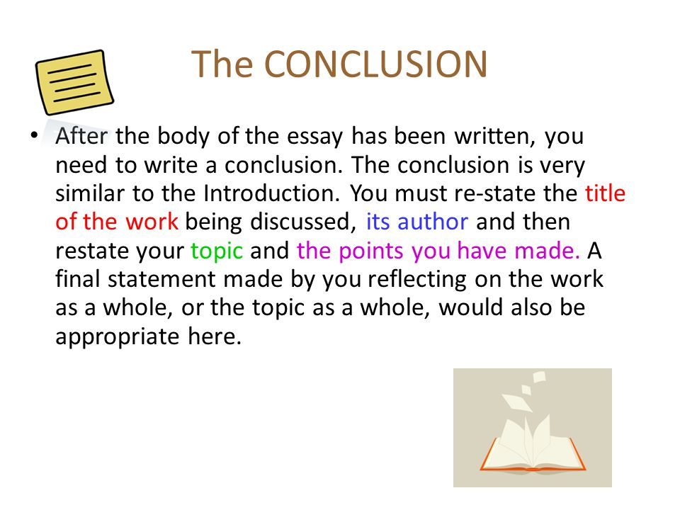 how to do conclusions in essays