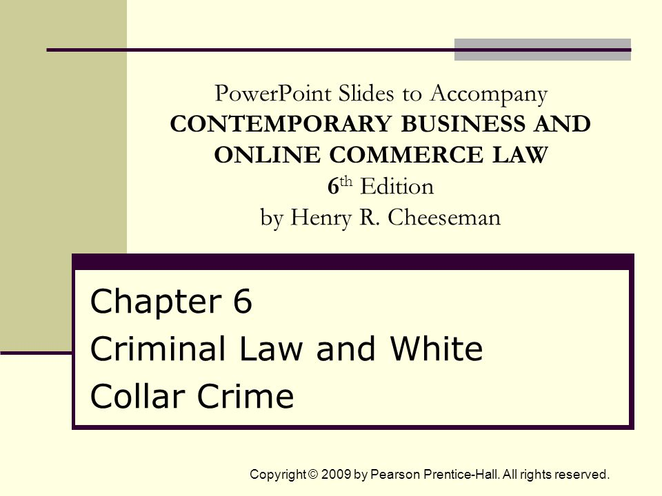 6 - 22Copyright © 2009 by Pearson Prentice-Hall.All rights reserved.