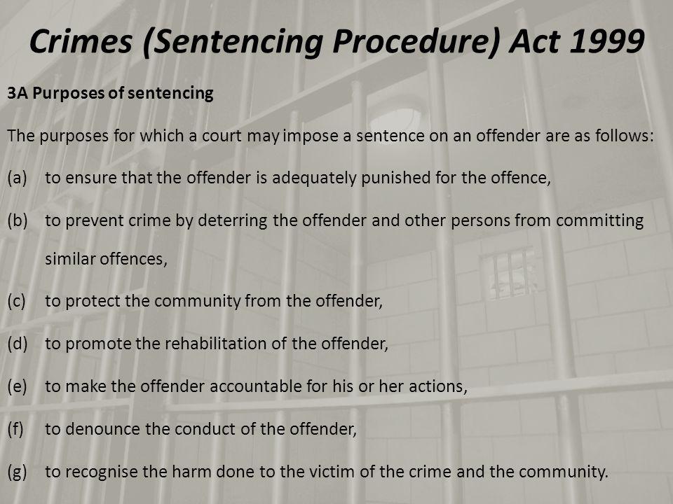 The proposed 6 new mandatory minimum sentences: Crimes Amendment (Intoxication) Bill 2014