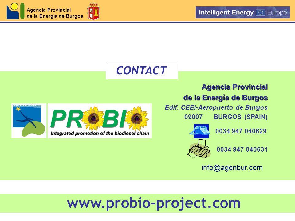 Agencia Provincial de la Energía de Burgos Agencia Provincial de la Energía de Burgos Edif.