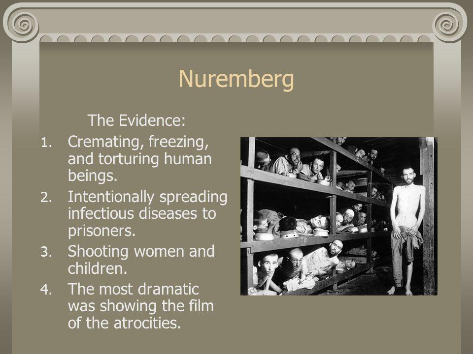 Nuremberg The Defense: 1.Pleads not guilty 2.