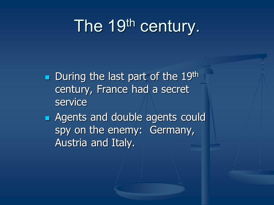 The 19 th century.