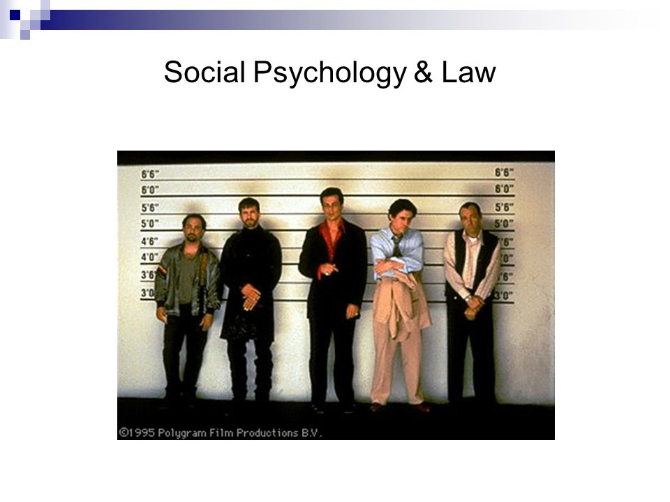 Social Psychology & Law