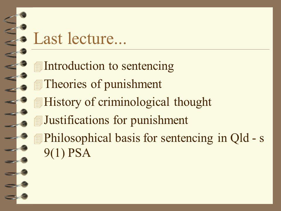 Last lecture...