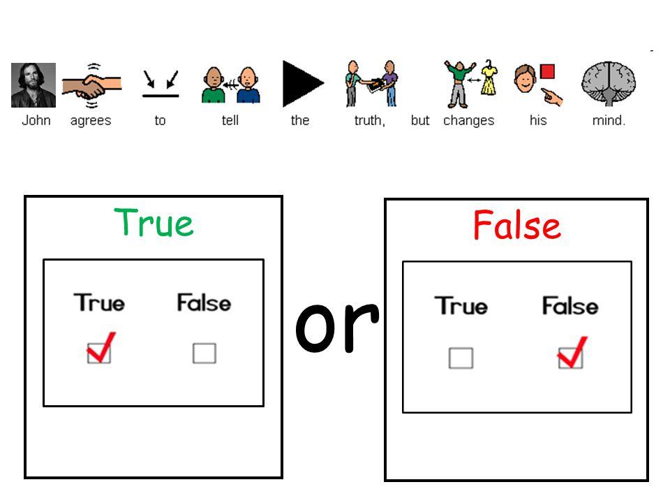 True False or