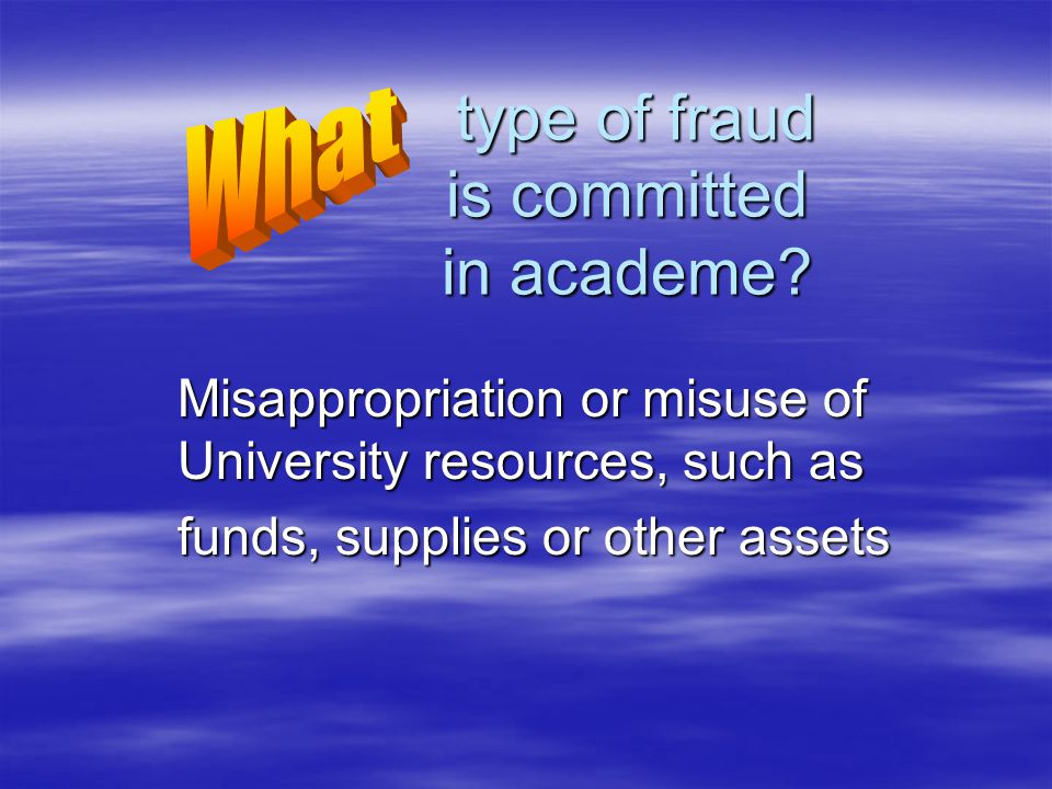 type of fraud is committed in academe. type of fraud is committed in academe.