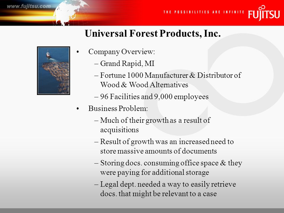 Universal Forest Products, Inc.