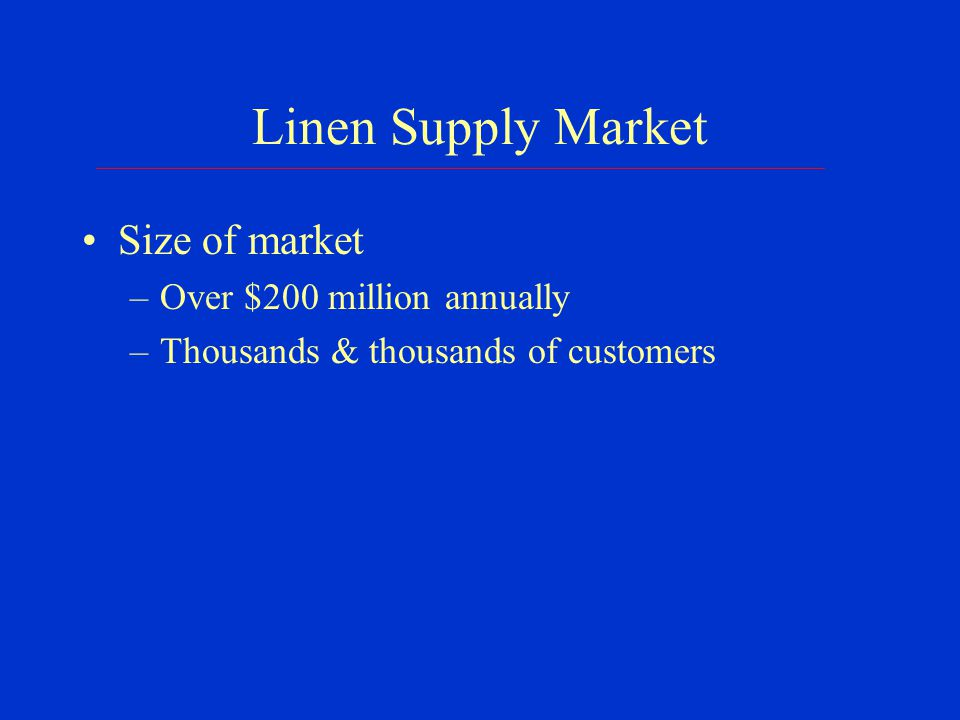 Linen Supply Market: Investigation Covert stage Threatening phone calls: trap & trace Threatening emails: trace Consensual monitoring – meetings with 1 of the 6 conspirators – the peacemaker – group meeting with the peacemaker & most aggressive of the conspirators